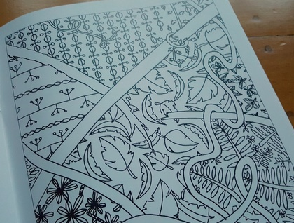 SALE: Colouring Book - The Caretaker's Colouring Book
