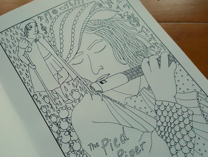 SALE: Once Upon A Time: Limited Edition Fairy Tale Colouring Book