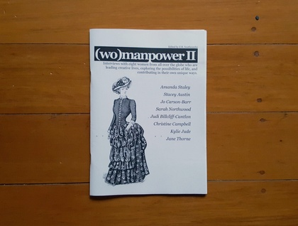 (wo)manpower II zine