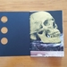 Golden skull: Handmade A6 48p Notebook