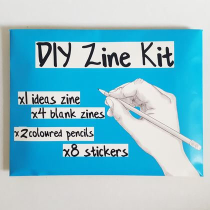 DIY Zine Craft Activity Kit