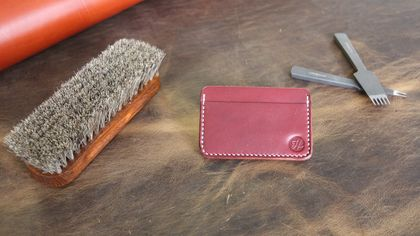 No.3 Cardholder (Burgundy)
