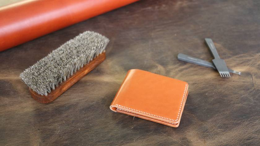 No.7 Billfold (Tan)