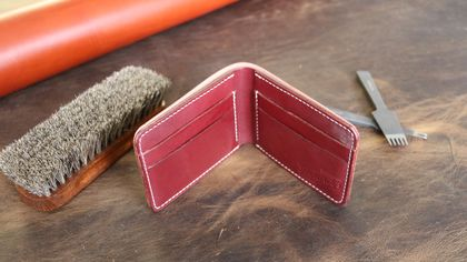No.7 Billfold (Burgundy)