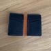 Vertical 6 pocket wallet