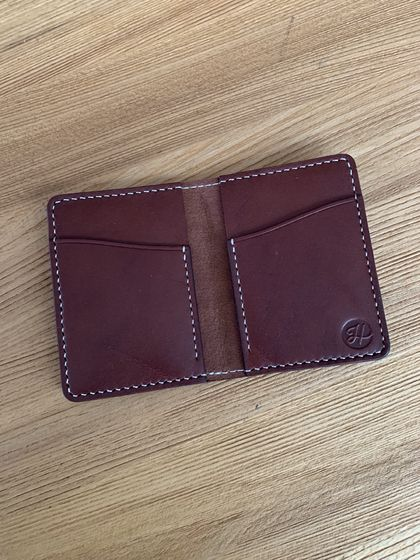 No.4 Cardholder (Chocolate)