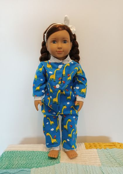 "Onesie for 18"" doll"