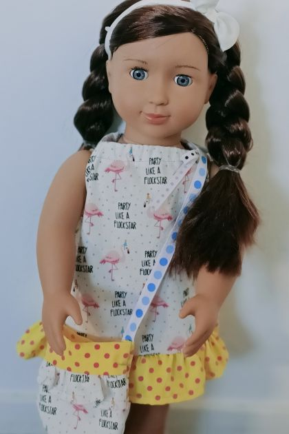 Summer dress 18 inch doll