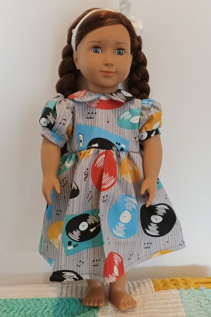 Party dress 18 inch doll