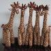Cute Handmade giraffes
