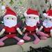 Cute handmade santas