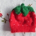 Gorgeous strawberry beanie