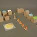 'City Blocks' Wooden Toy Set
