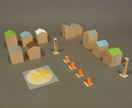 'City Blocks' Wooden Toy Set