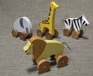 Safari Animal 4 Piece Set