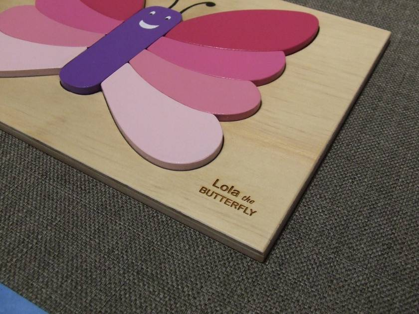 Lola Butterfly Toddler Puzzle