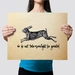 We do not take moonlight for granted Watership down quote Print - Wall Print 11x14 or A3 Print
