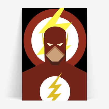Superhero Prints - Wall Print 8x10 or A4 - 4 to choose from