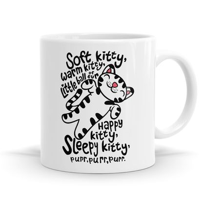 Kitty Song Mug - 11oz Coffee or Tea Mug
