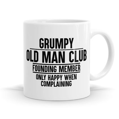 Grumpy Old Man Club 11oz Coffee / Tea Mug