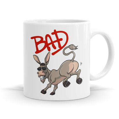 Bad A$$ Pun Mug - 11oz Coffee / Tea Mug
