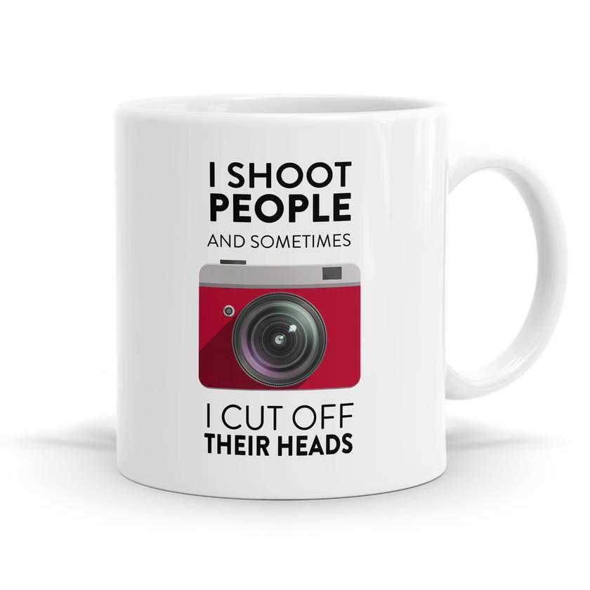 I Shoot People Photographer Coffee / Tea Mug - 11oz