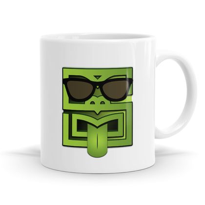 Cool Tiki Block Edition - Kiwiana 11oz coffee / Tea Mug - Unique Kiwi Emoji Series