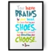 Any Direction You Choose Dr Seuss Print - Wall Print 8x10 or A4