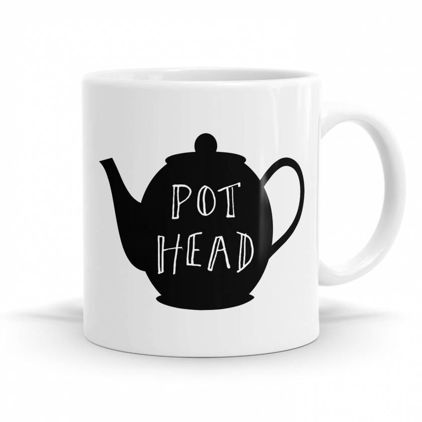 Pot Head -11oz Coffee / Tea Mug