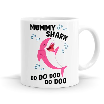 Shark Family - Listing A -11oz Coffee / Tea Mug / Soup / Hot Chocolate