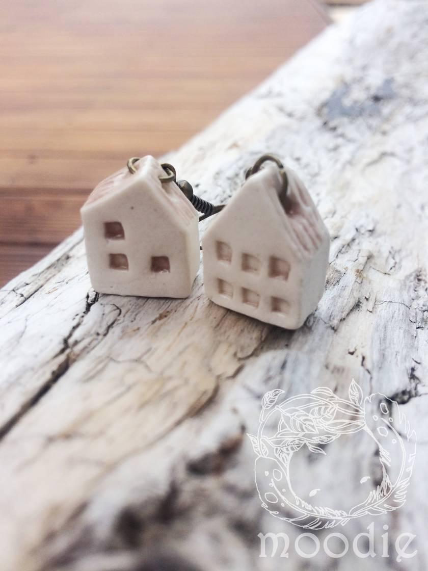 Mini House earrings
