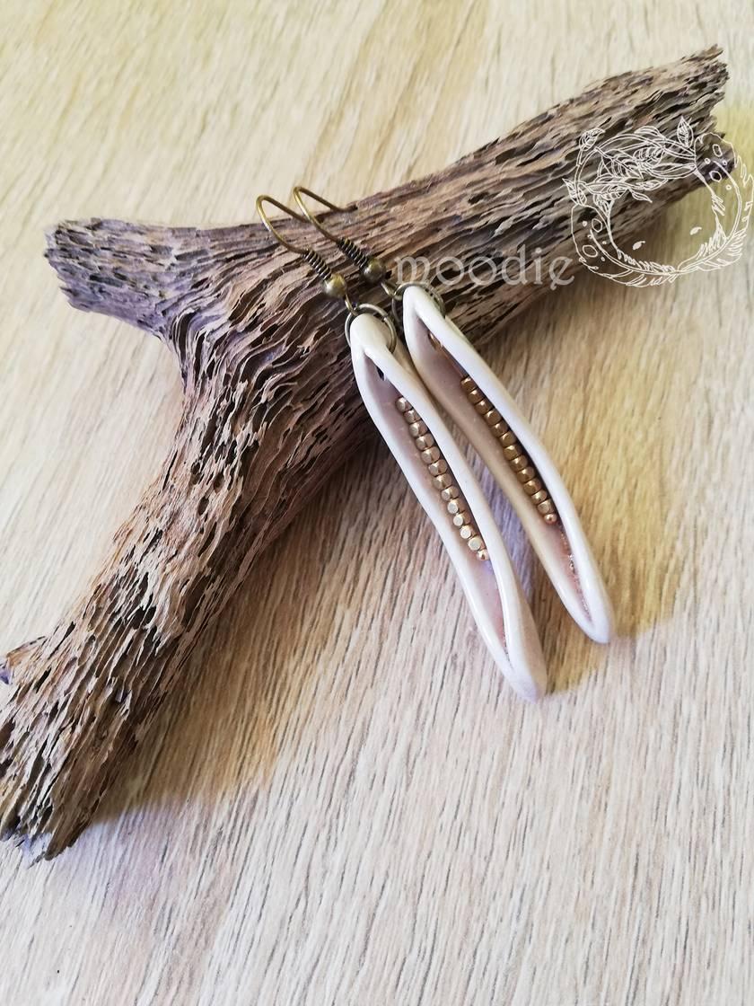 Sweet peas earrings