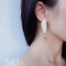 Mismatched chic earrings