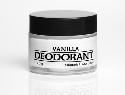 Vanilla natural deodorant