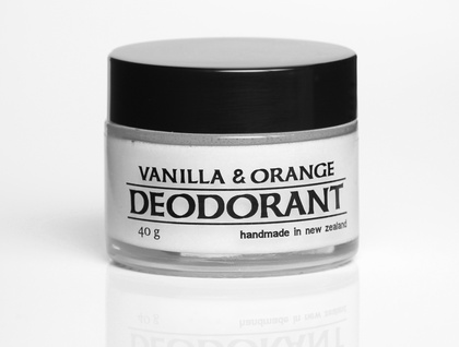 Vanilla and Orange natural deodorant