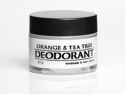 Orange and Tea Tree natural deodorant