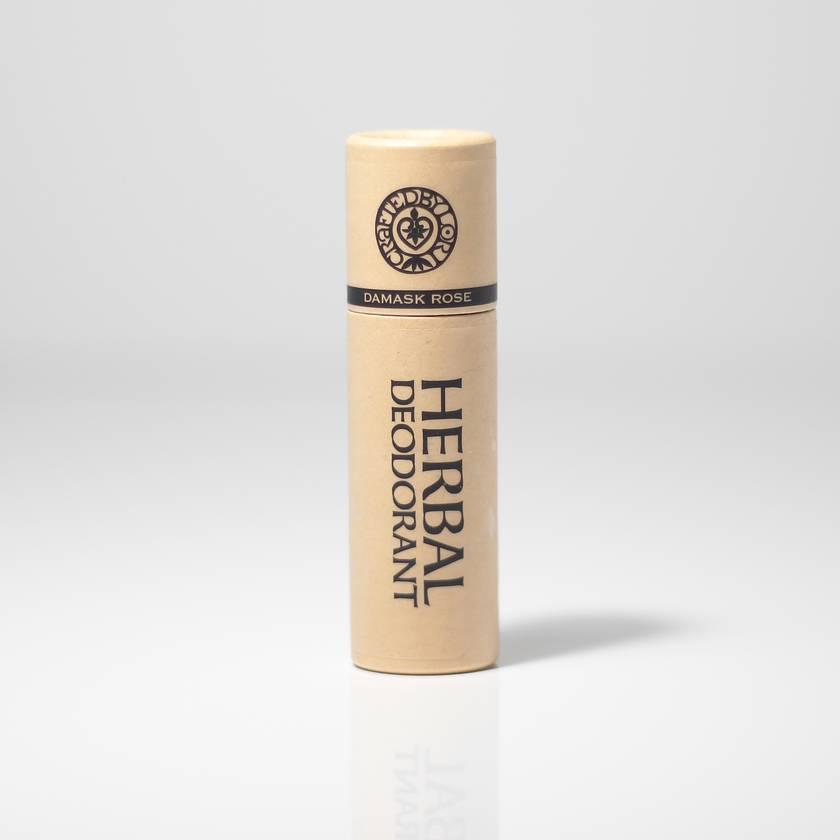 DAMASK ROSE HERBAL DEODORANT, 20 g