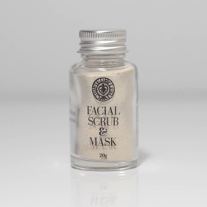 Facial scrub & mask, 20g
