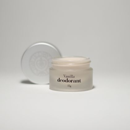Vanilla natural deodorant, Small 15g