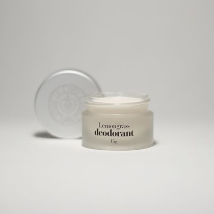 Lemongrass natural deodorant, 15g