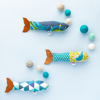 Catnip Toy fish - regular size