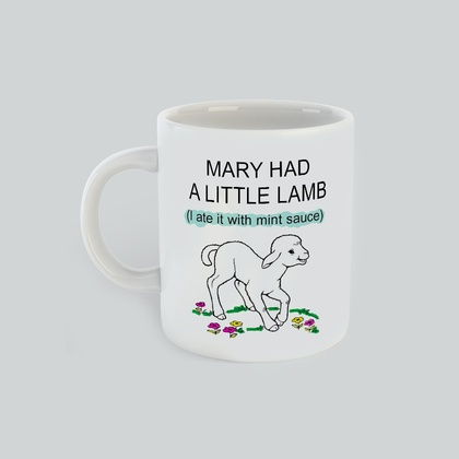 Mary Had A Little Lamb, Gift for Him Gift for her