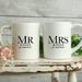 Custom Personalised Matching Wedding Mugs-Jones Design