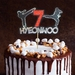 Taekwondo, Karate Personalised Cake Topper