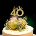 """Hello 40"" Cake Topper, celebrate 40th, why not!"