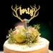 Boho 30th,40,50th Cake Topper