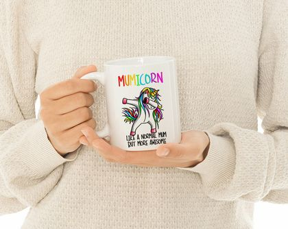 Mumicorn Mug- Funny Mother's Day  Mug