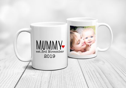 Mummy established-  Funny Mother's Day  Mug