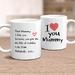 I Love You Mummy (Mum) -  Personalised  Mother's Day  Mug