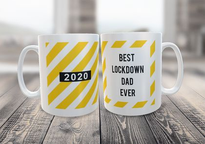 Lockdown Dad- Father's Day Funny  Mug